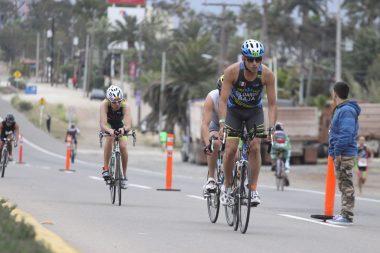 La prueba de ciclismo sobre la carretera