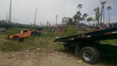 El Trophy Truck está registrado a nombre del piloto norteamericano Mike Cook