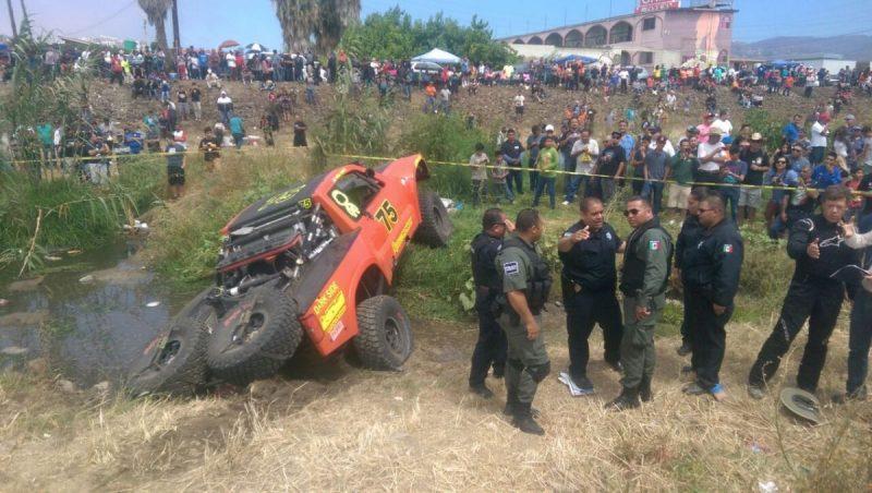 La Policía Municipal acudió a la zona del accidente