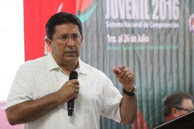 Saúl Castro, director del INDE