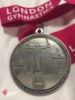 El gimnasta compartió una imagen de su medalla