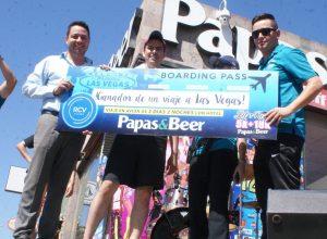 Ubaldo Ruiz ganó el viaje a Las Vegas