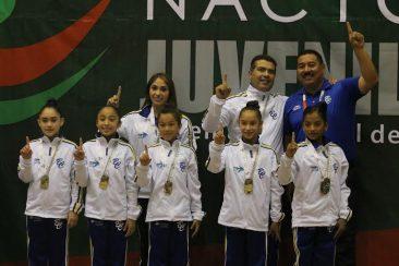 El equipo femenil ganó oro (INDE)