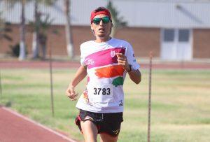 Alan Marrón ganó la carrera