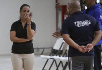 Verónica Angulo, entrenadora